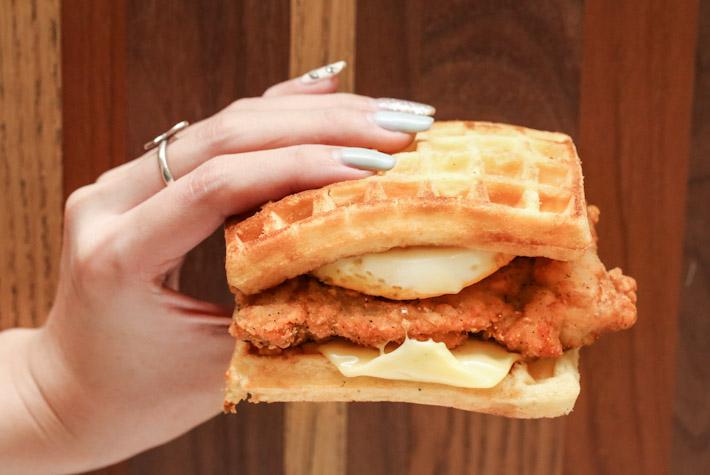 Waffle Chicken Riser