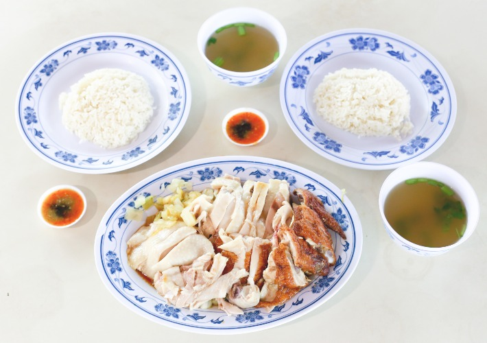 Xiang Ji Chicken Rice Dishes