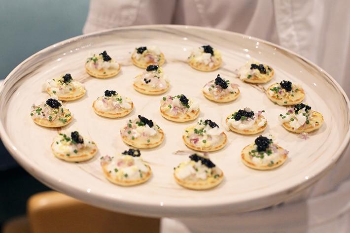 caviar pass around beach road kitchen