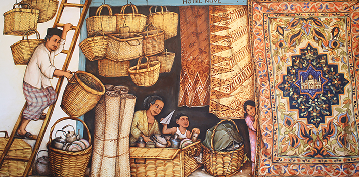 kampong gelam mural