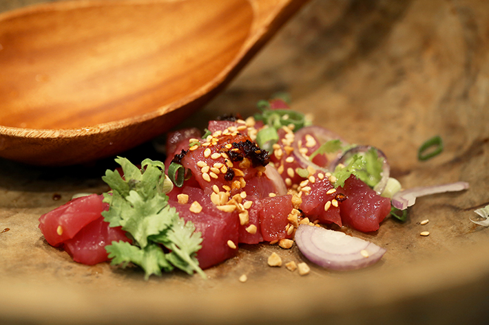live tuna tartare beach road kitchen