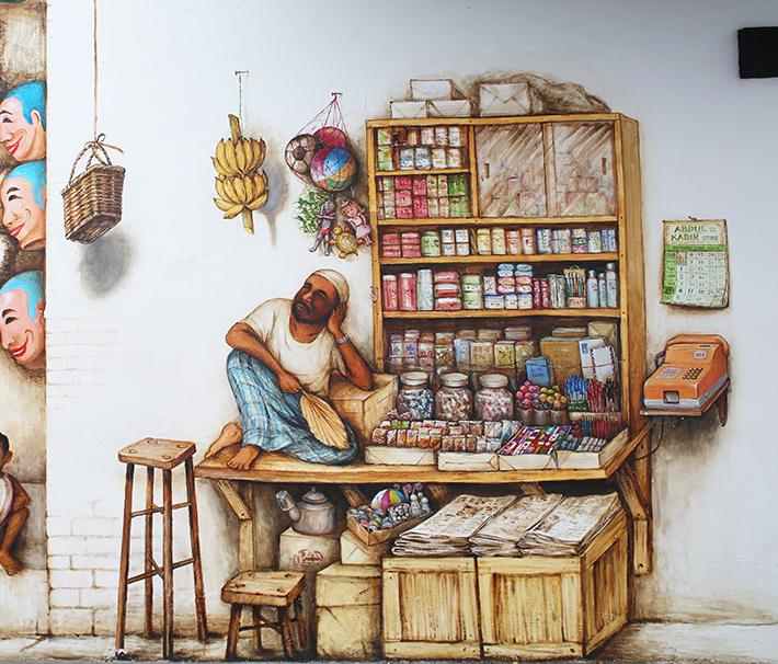 mamak store mural