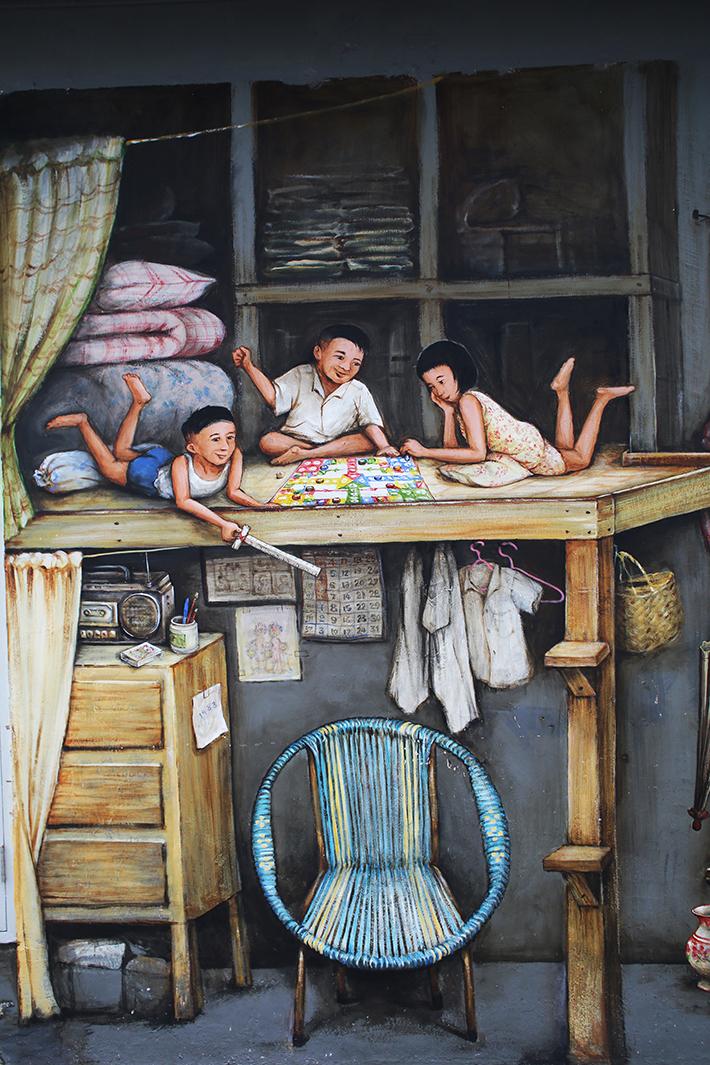 my chinatown home 1 mural