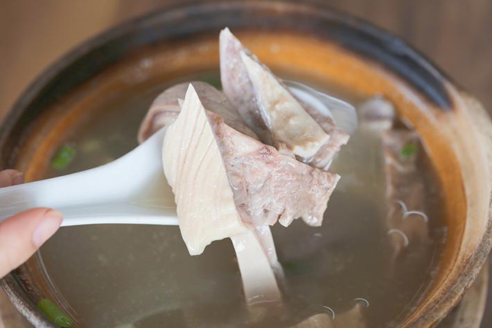 pig maw soup zheng zong bak kut teh