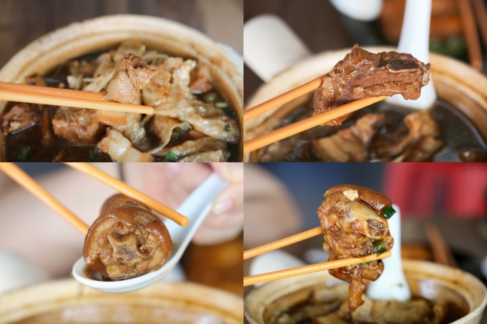pork parts compilation zheng zong bak kut teh