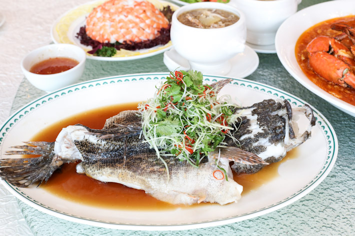 Ban Heng Steamed Soon Hock Fish