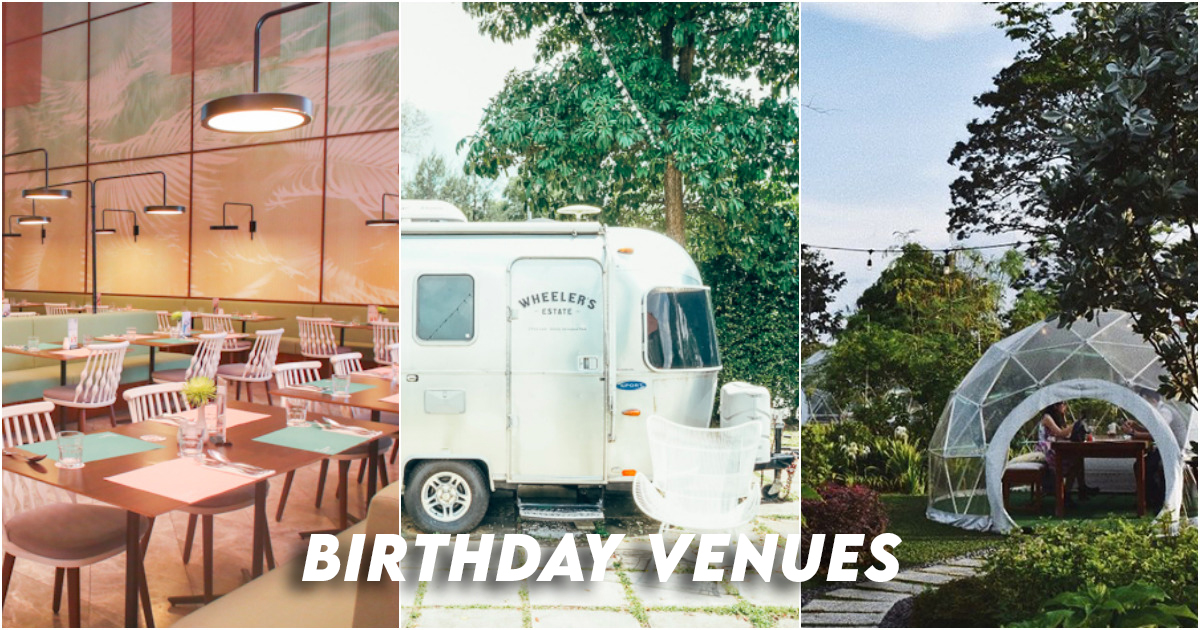 Birthday venues singapore