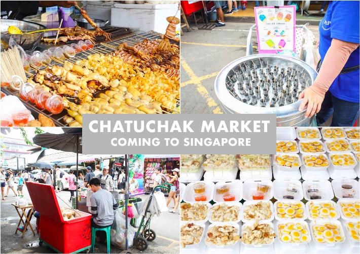 Chatuchak market Singapore