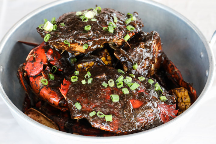 Dancing Crab Black Pepper Crab