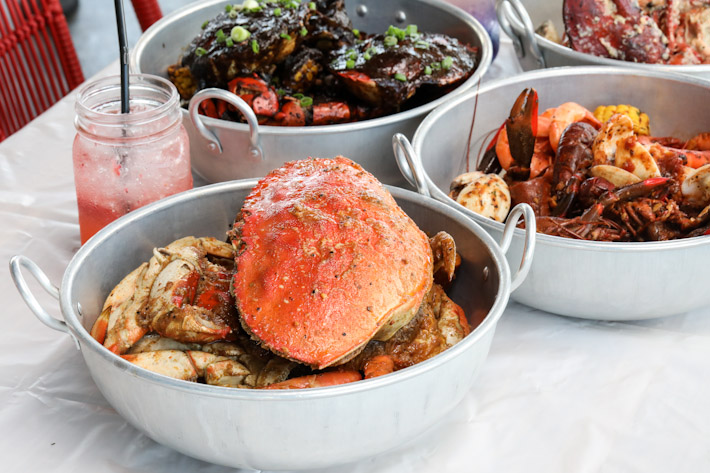 Dancing Crab Dungeness Crab Combo