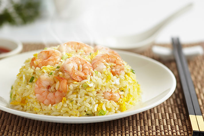 Din Tai Fung Fried Rice with Shrimps and Eggs