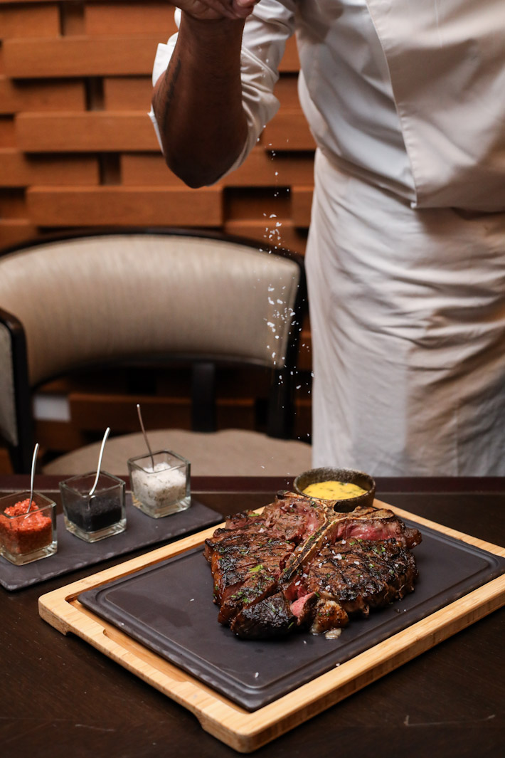Opus Salt Bae Steak