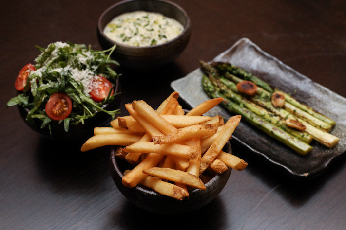 Opus Truffle Fries Sides