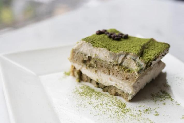 Real Food Matcha Tiramisu
