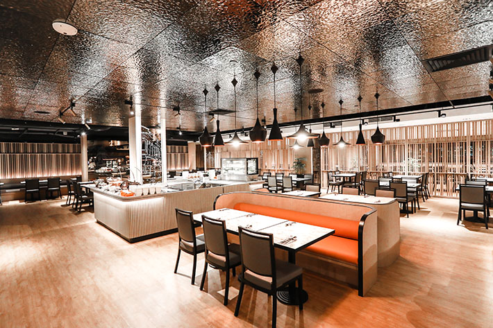 Spice Brasserie Interior New