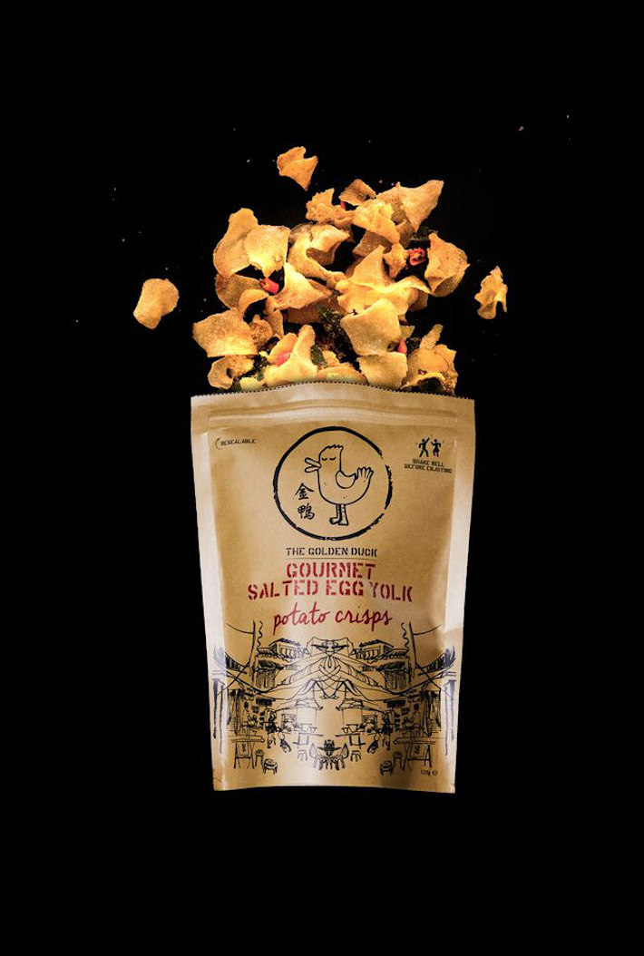The Golden Duck Salted Egg Yolk Crisps