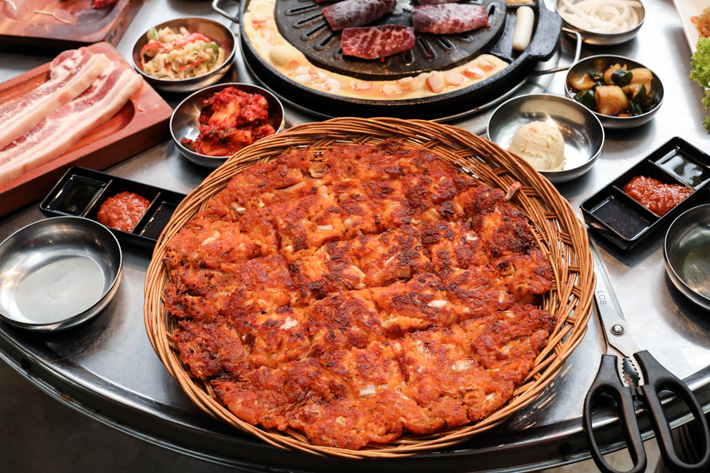 Wang Dae Bak Kimchi Pancake