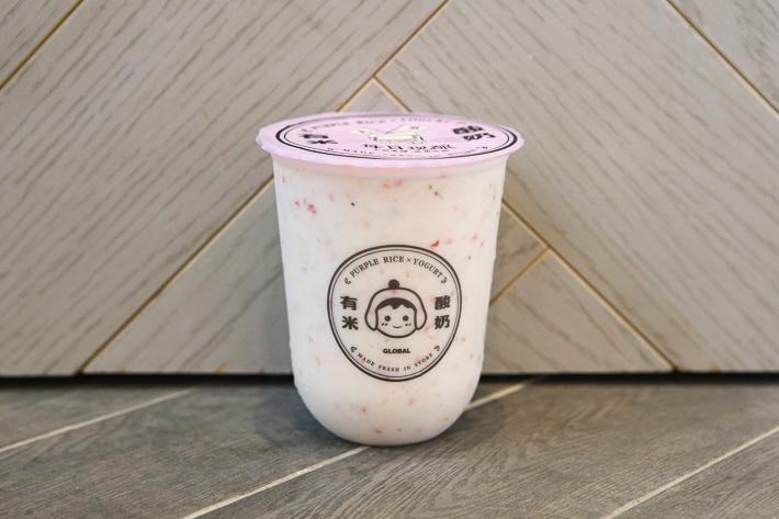 yomie yoghurt strawberry