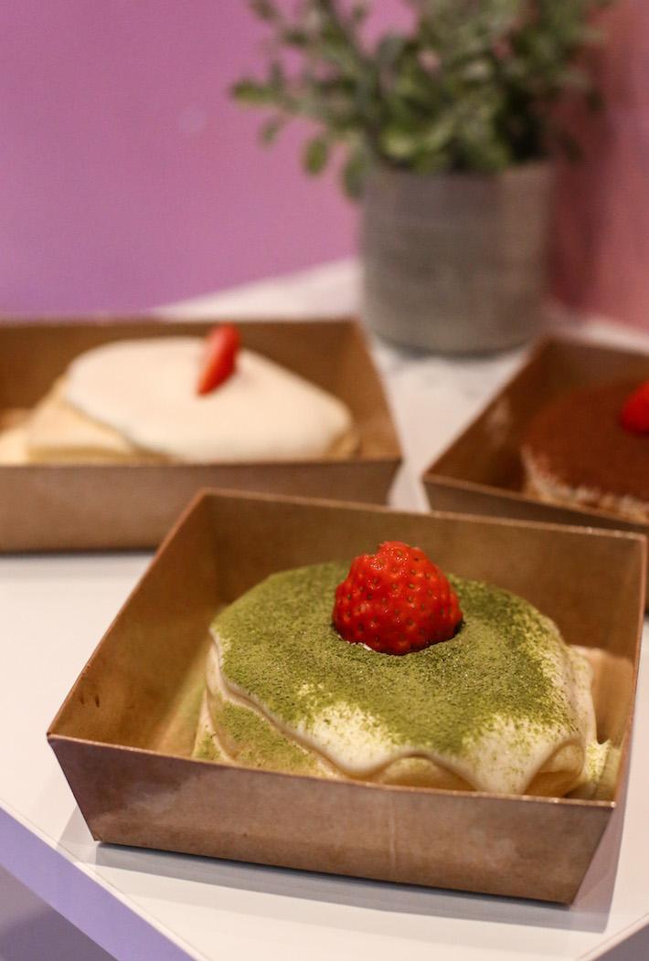 19Tea Matcha Souffle Pancake