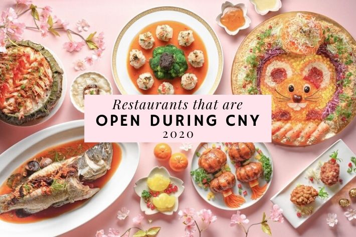 CNY restaurants open 2020 cover photo