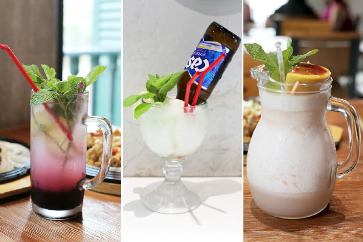 Chir Chir Drinks Collage