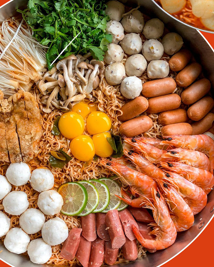 Flying Wok Mama Wok XXL Tom Yum Seafood