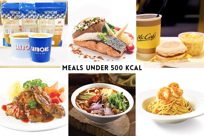 HPB Lower Calories Meals