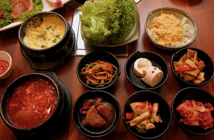 Jangsu Korean BBQ Side Dishes