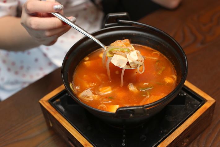 Honey Night Kimchi Soup