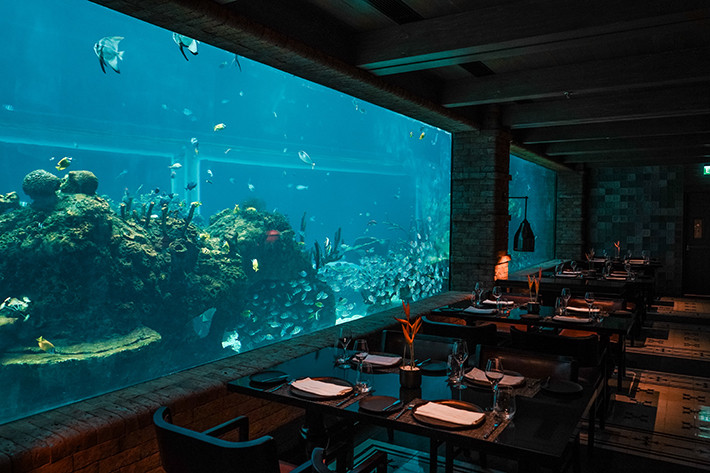 Koral Restaurant Bali Interior