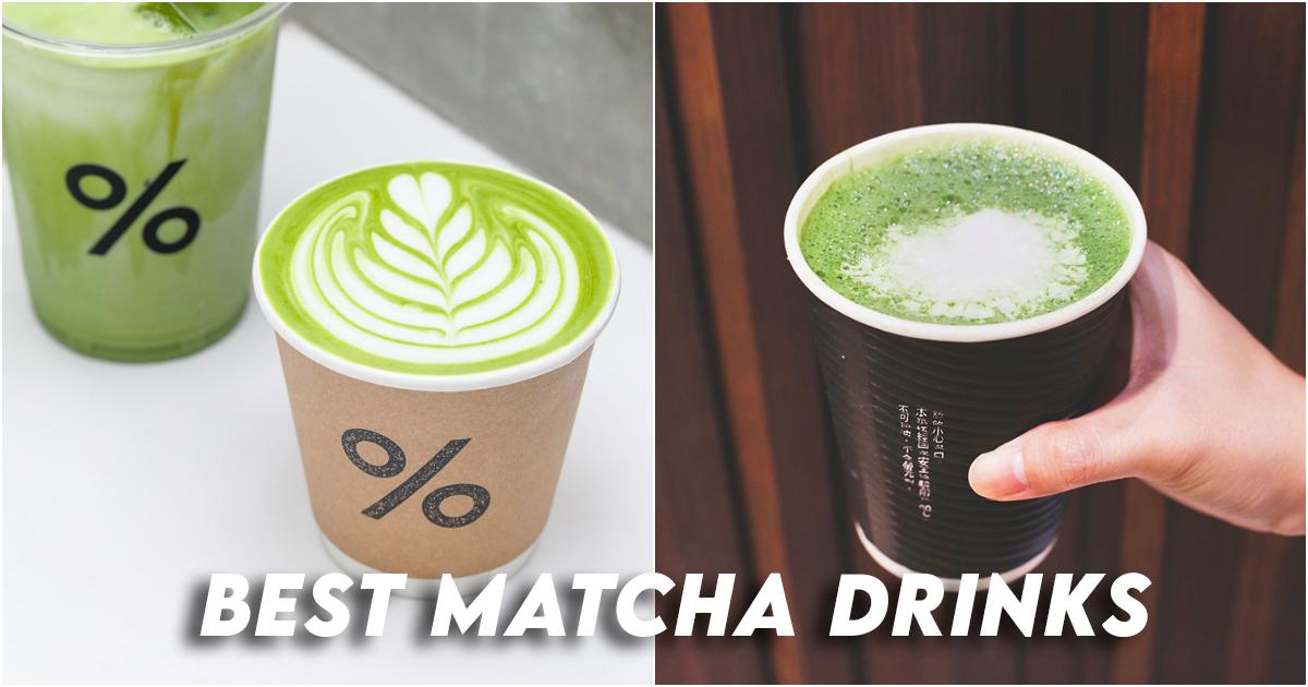 Matcha Drinks Singapore