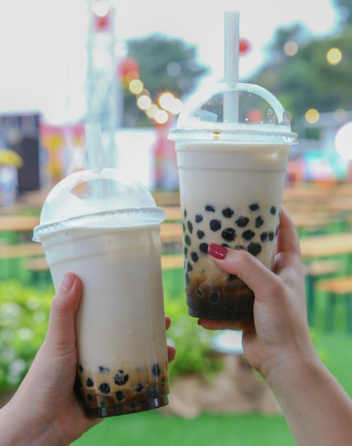 Ningxia Night Market Brown Sugar Bubble Milk