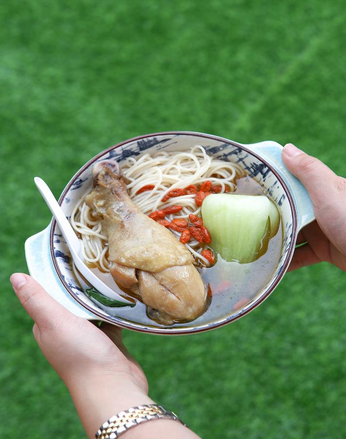 Ningxia Night Market Singapore Sesame Chicken Mee Sua