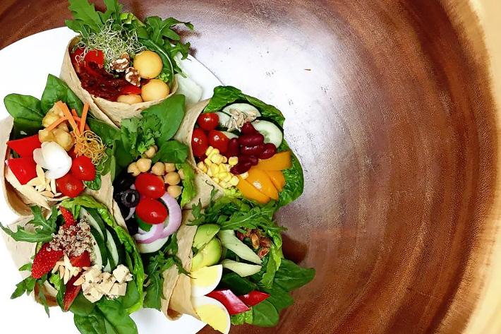 Well Dressed Salad Bar