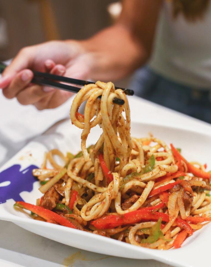 Xiaoer Niuda Stir-fried Spicy Beef La Mian