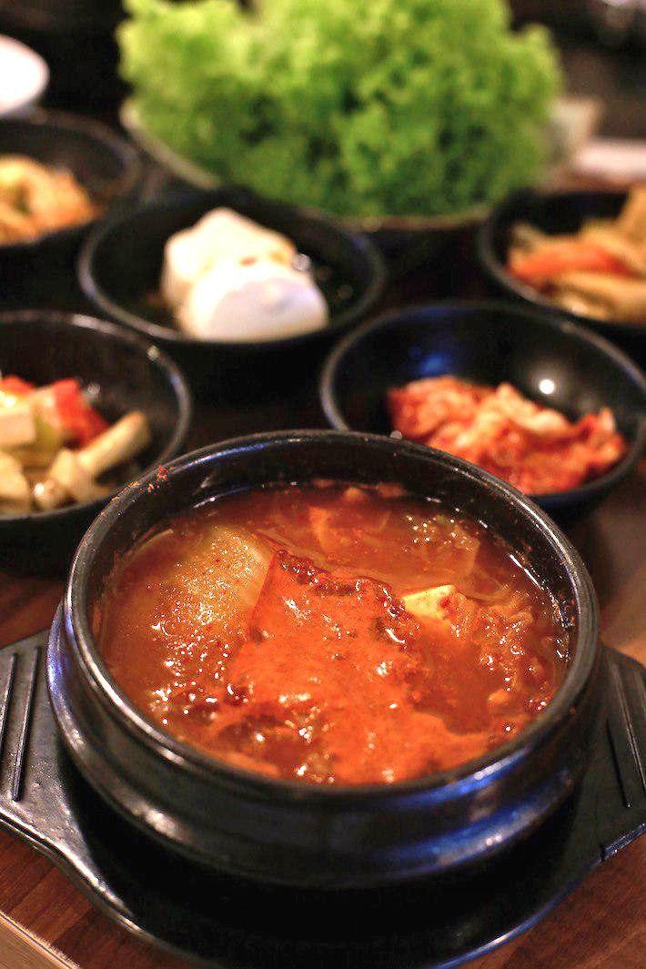 Jangsu korean bbq kimchi soup