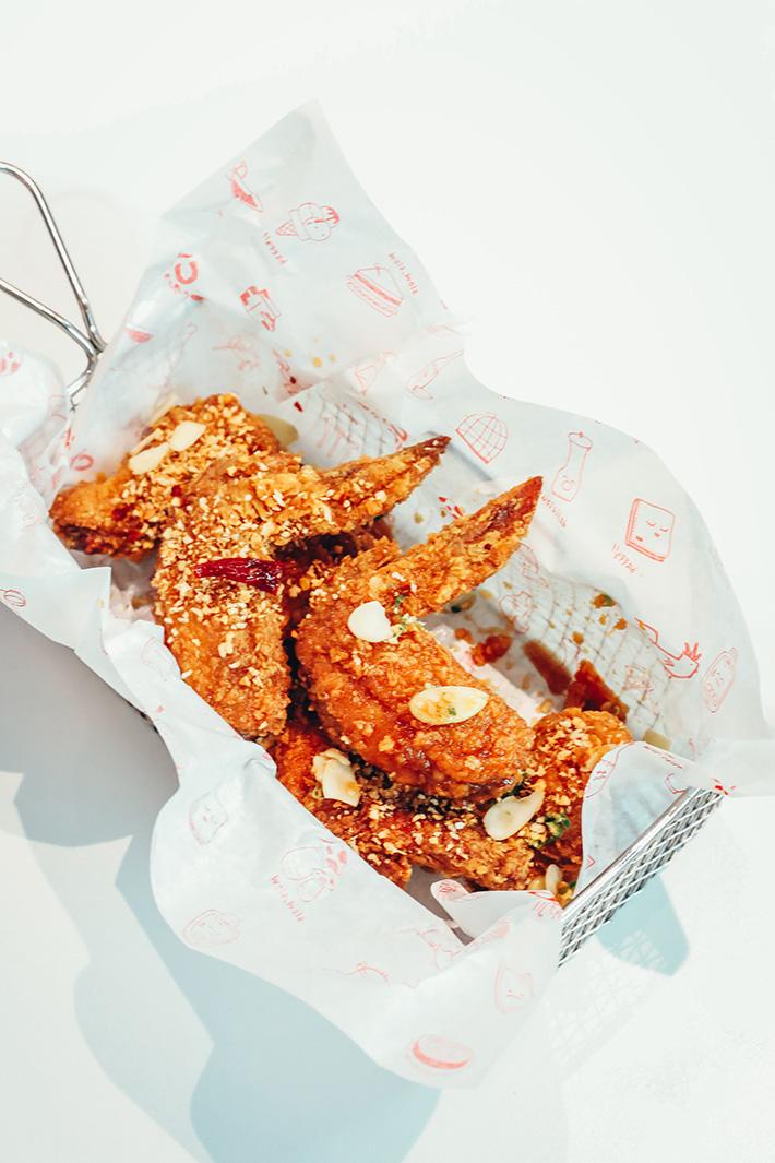 Chir Chir Garlicy Fried Chicken