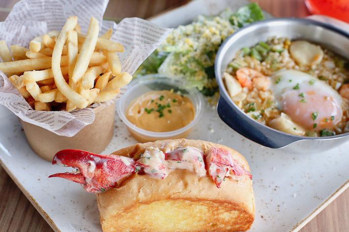 Dancing Crab Lobster Roll