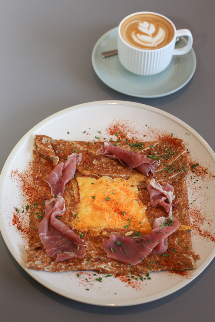 Gather Parma Ham Galette