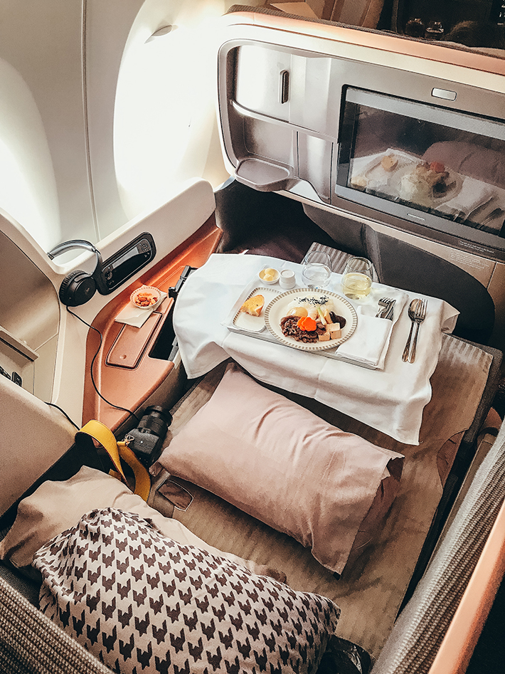 Singapore Airlines Businesss Class