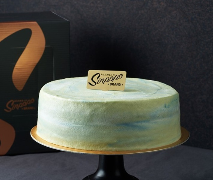Sinpopo Brand Pandan Kaya Cake