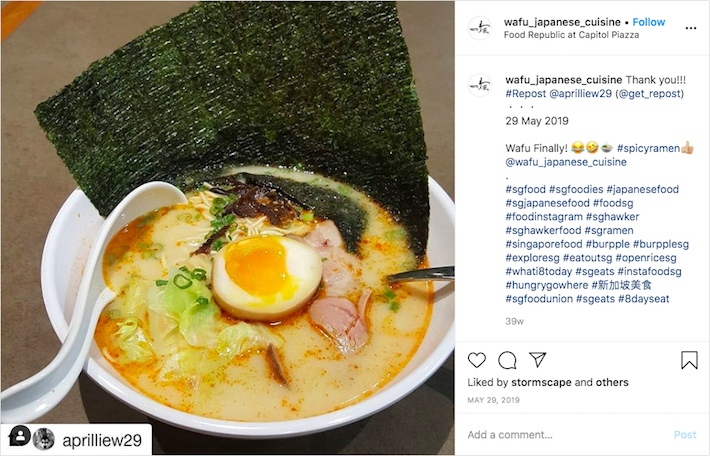 Wafu Japanese Cuisine Ramen
