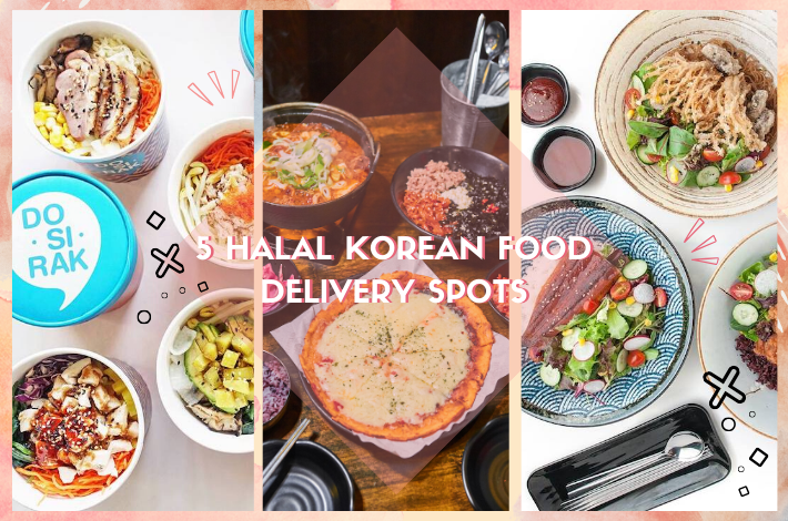 5 HALAL KOREAN FOOD DELIVERY