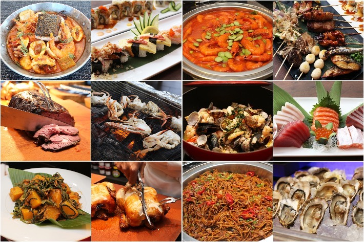 Chope Buffet Collage