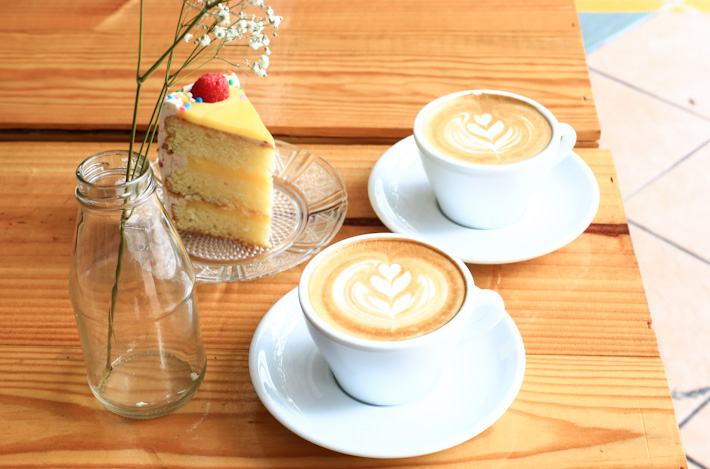 Percolate Coffee-and-cake