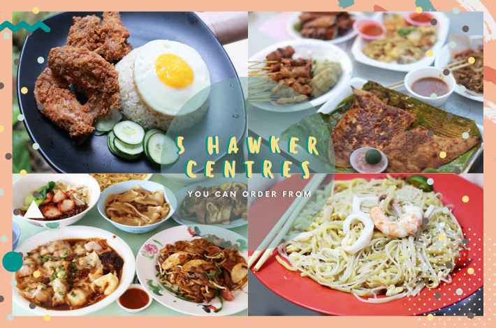 5 hawker centres delivery