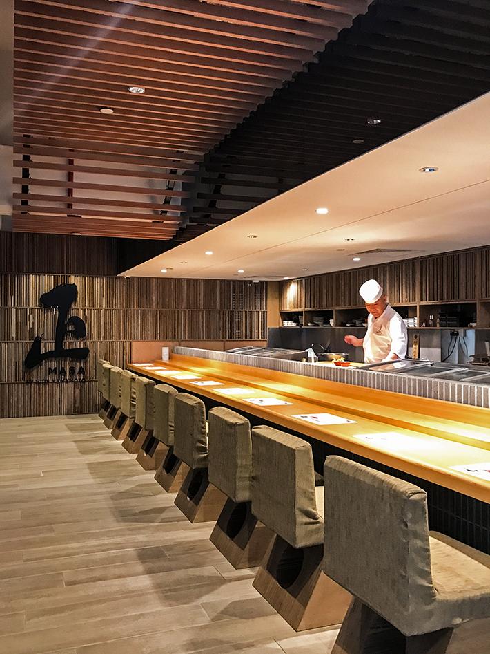 Hidemasa Omakase Dining Interior