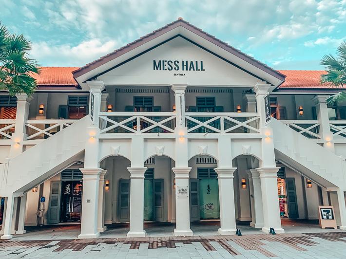Mess Hall Exterior