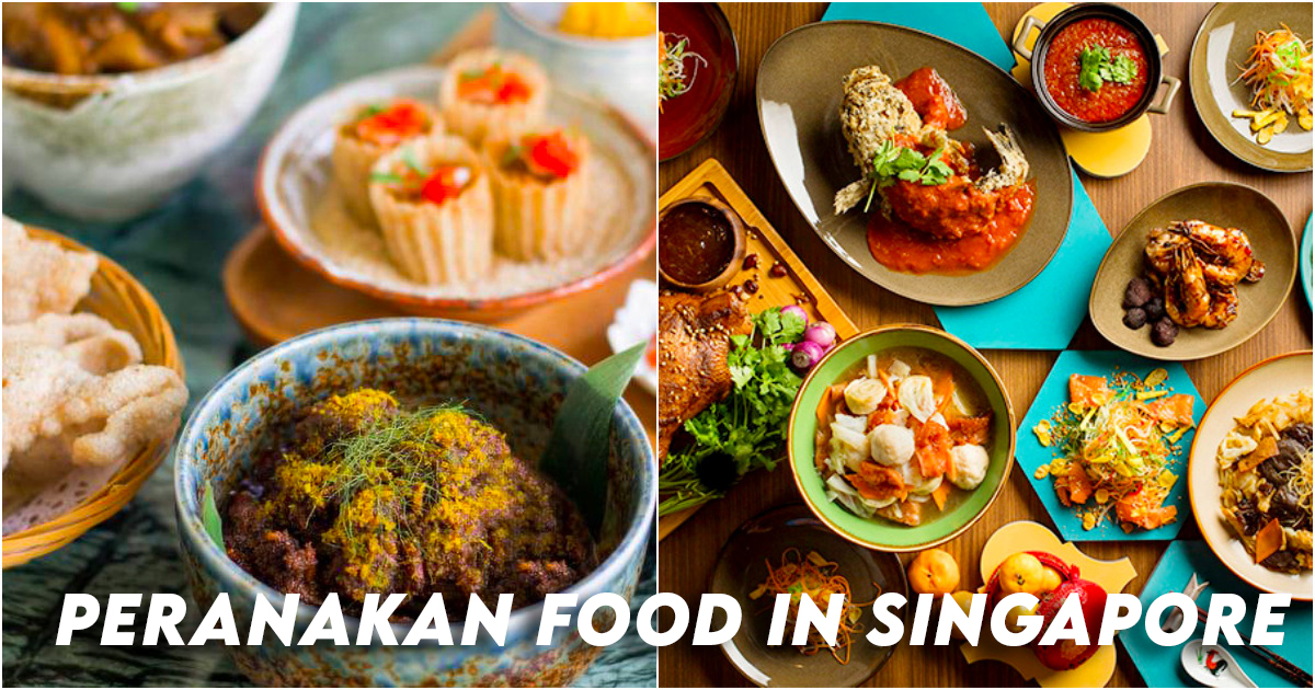 Peranakan Food Singapore