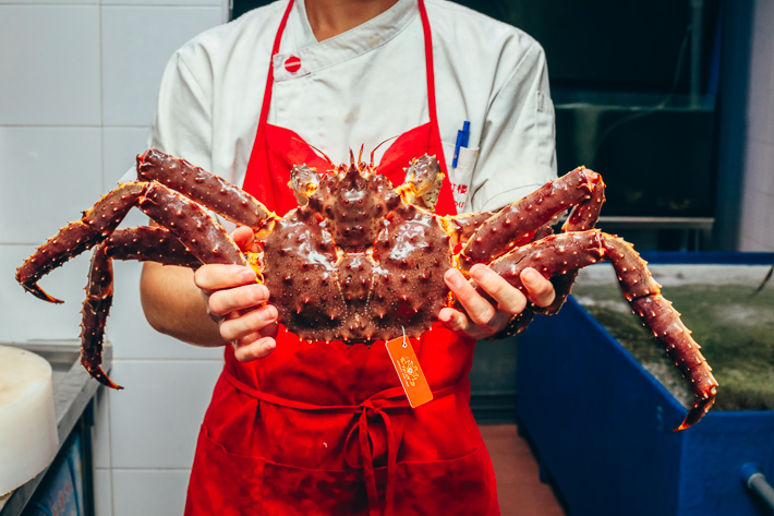 Red House Seafood Alaskan King Crab